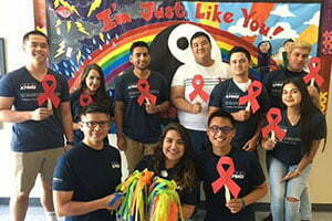 LGBTQ and HIV Education and Outreach Team Members