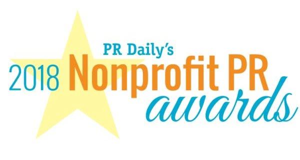 Logotipo de los premios PR sin ánimo de lucro 2018 de PR Daily