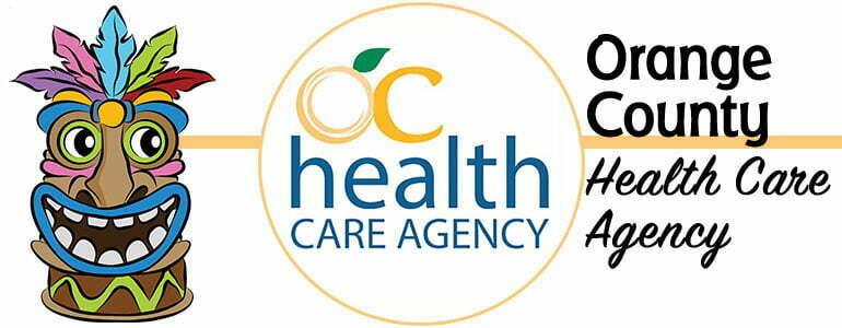 Logotipo de Orange County Health Care para el Día Mundial del Sida
