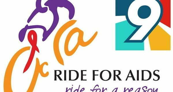 Annual Ride for AIDS event logo