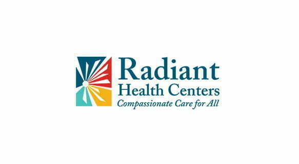 Radiant Health Centers logo for $1.97 million grant for HIV treatment