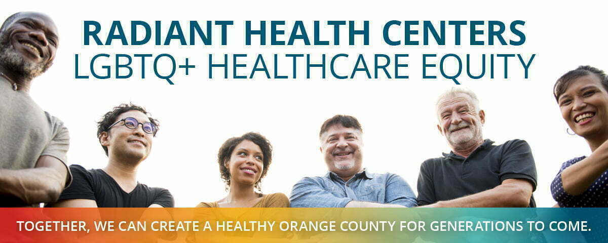 Radiant Health Centers LGBTQ+ Healthcare Equity logo