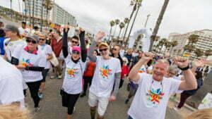 Group of 2019 Aids Walk Orange County Participants