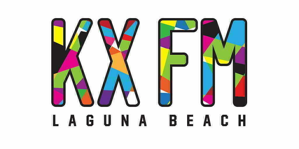KXFM Laguna Beach Logo