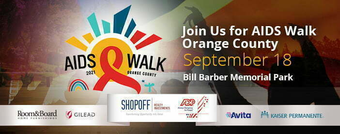 AIDS Walk Orange County Is Back and In-Person for 2021