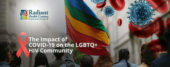 COVID-19 and the HIV community in Irvine.